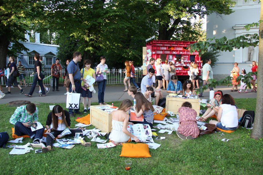 Manifesta 10, St. Petersburg, 2014. Manifesta 10 Dacha, Travelling Education Program. Photo © Manifesta 10