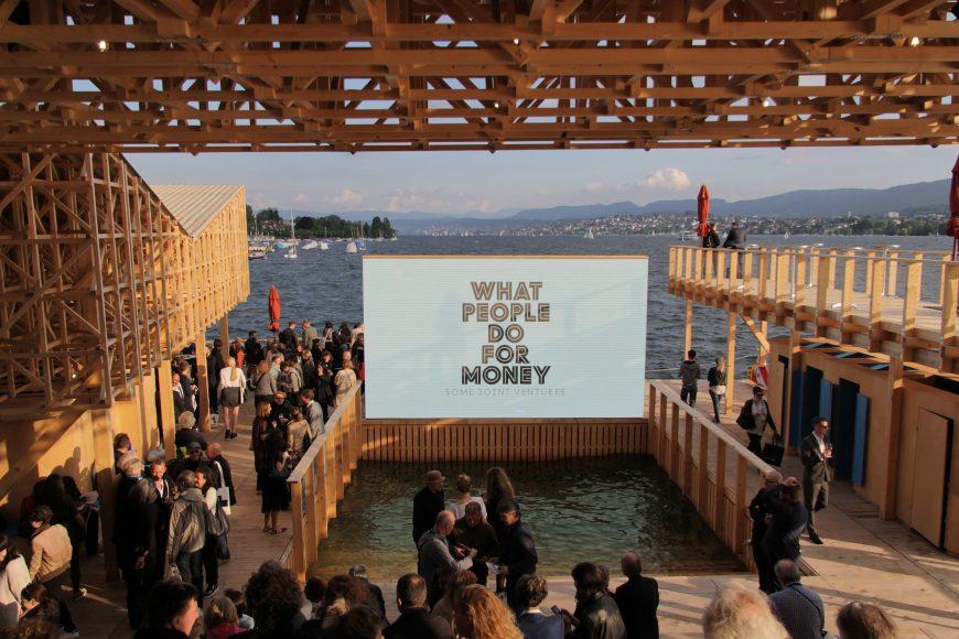 Manifesta 11, Zurich, 2016. Pavillon of Reflections, ZTH Students led by Studio Tom Emerson. Photo © Manifesta 11