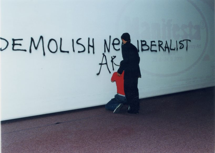 Manifesta 3, Ljubljana, 2000.  Photo © Manifesta 3