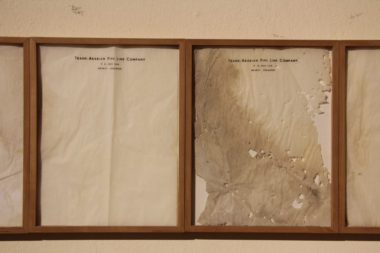 Steel Rings (2013 – ongoing) and Letterhead (1950-2013) - Manifesta